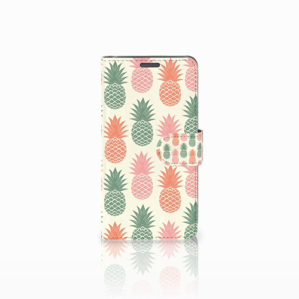 Wiko Lenny Boekhoesje Design Ananas