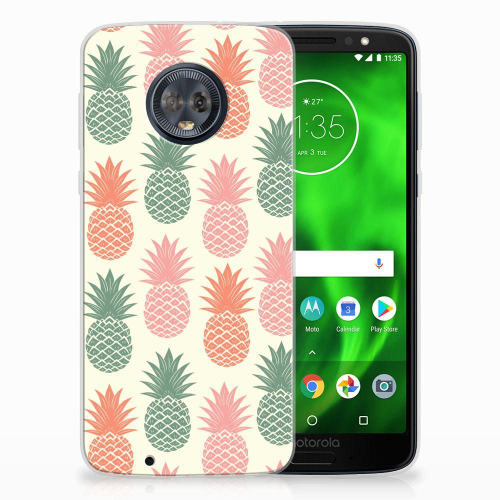 Motorola Moto G6 TPU Hoesje Design Ananas