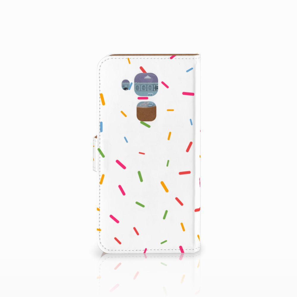 Huawei Nova Plus Book Cover Donut Roze