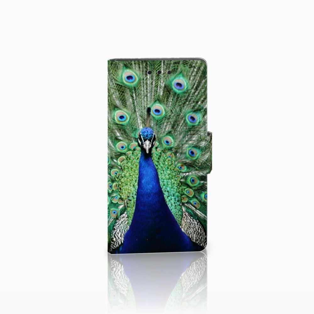 Sony Xperia Z5 Compact Boekhoesje Design Pauw
