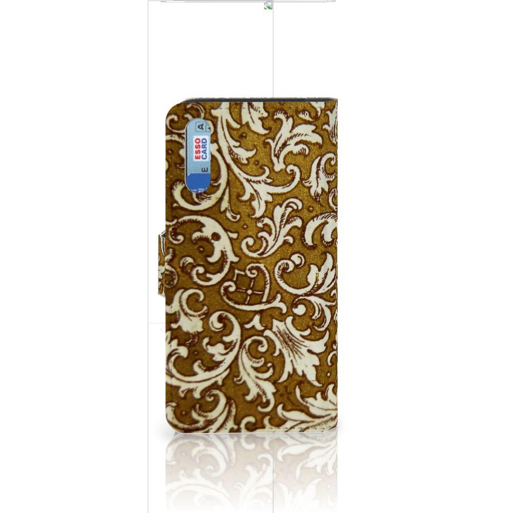 Wallet Case Huawei P20 Barok Goud