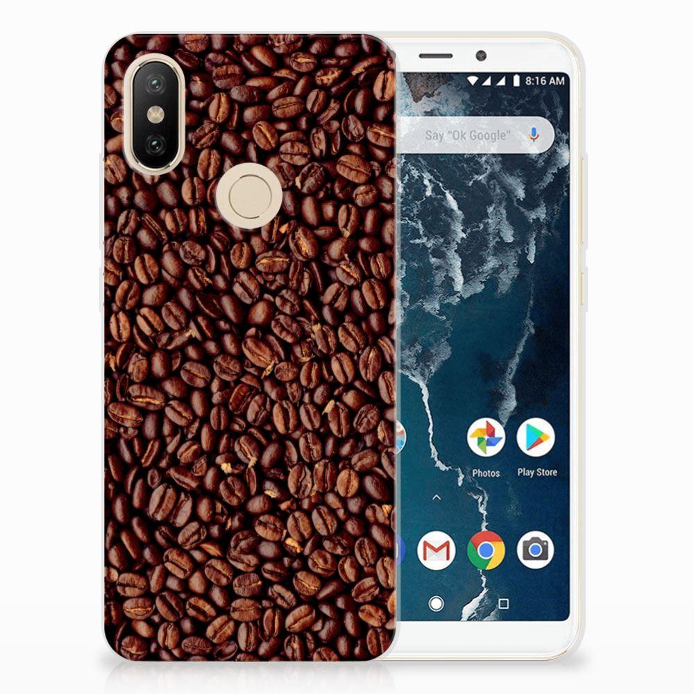 Xiaomi Mi A2 Siliconen Case Koffiebonen