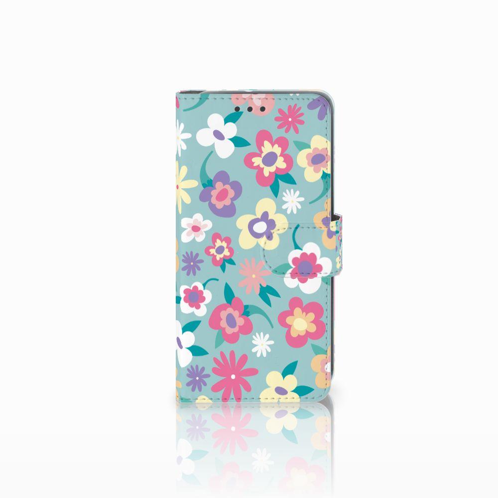 HTC U11 Life Boekhoesje Design Flower Power