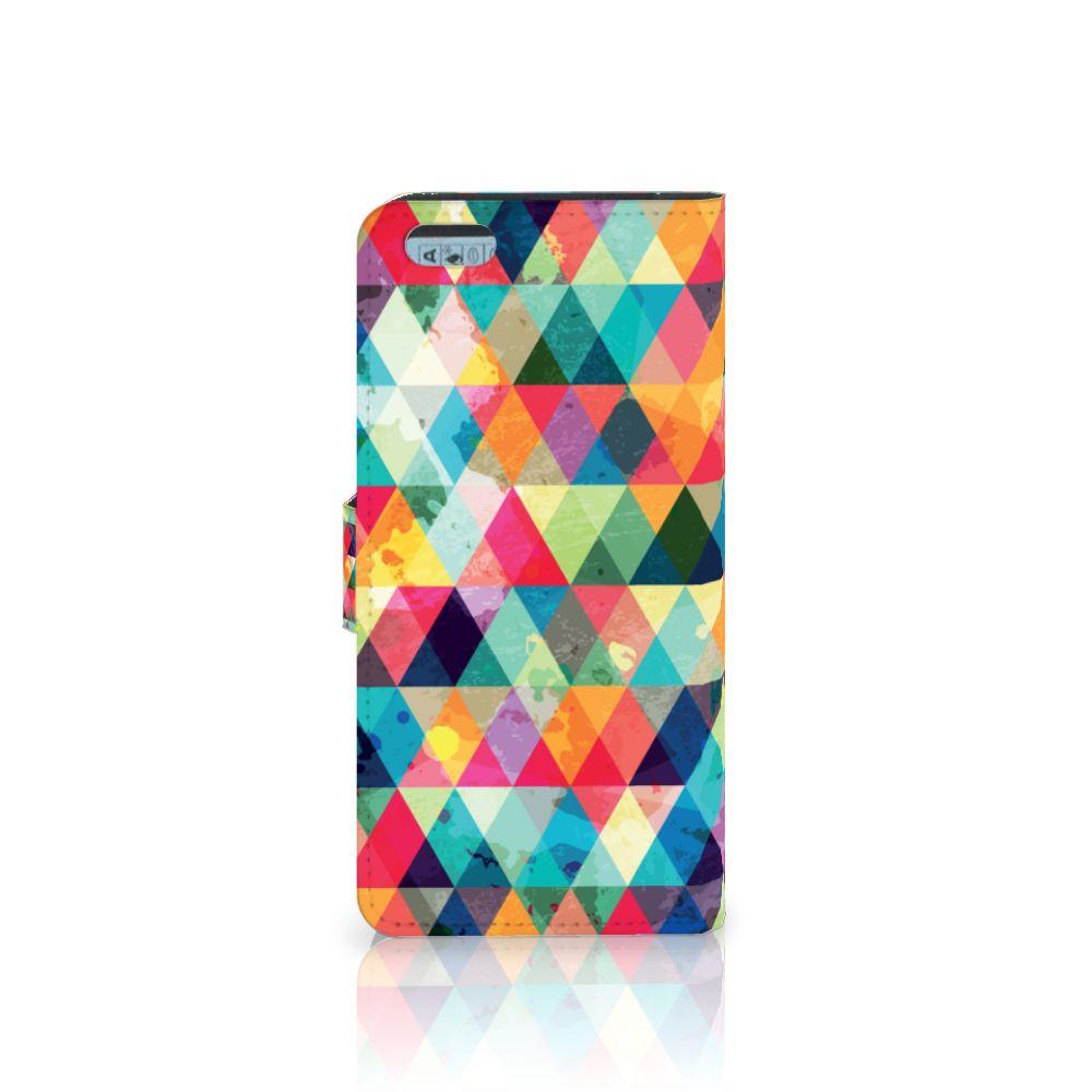 Apple iPhone 6 Plus | 6s Plus Telefoon Hoesje Geruit
