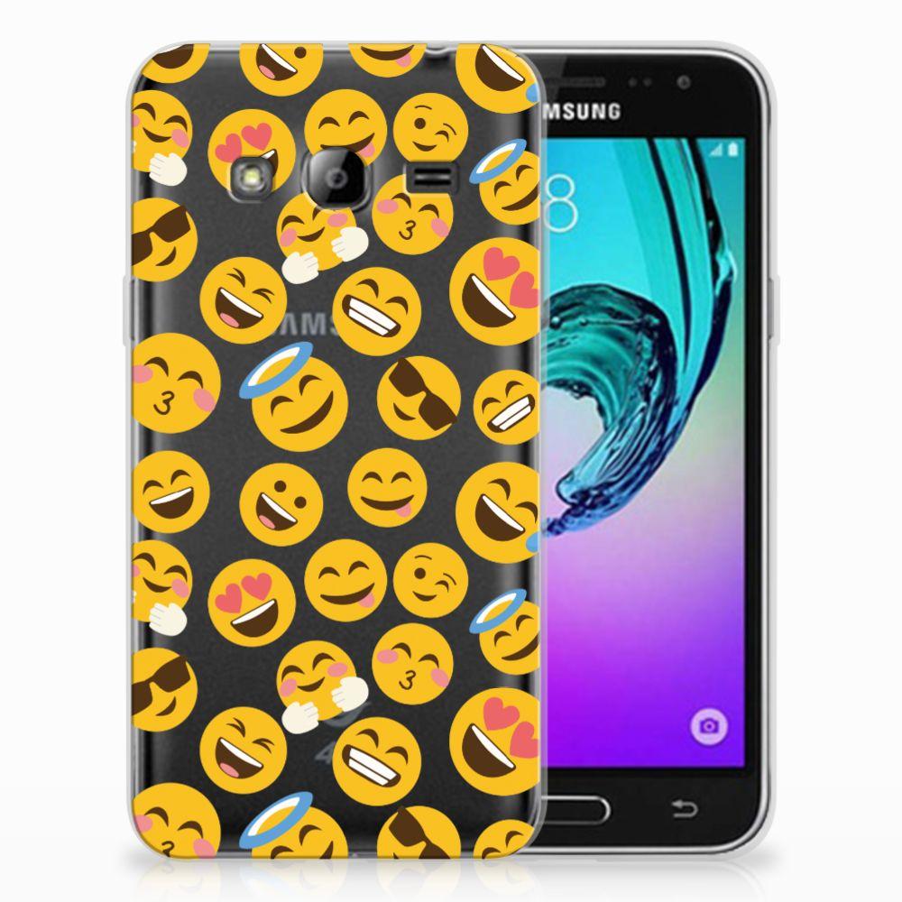 Samsung Galaxy J3 2016 TPU bumper Emoji