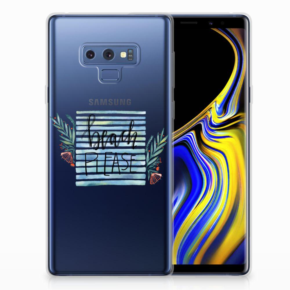 Samsung Galaxy Note 9 Telefoonhoesje met Naam Boho Beach