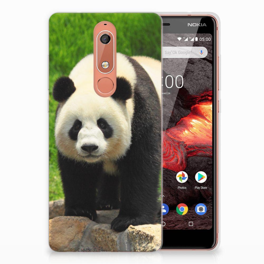 Nokia 5.1 (2018) TPU Hoesje Panda