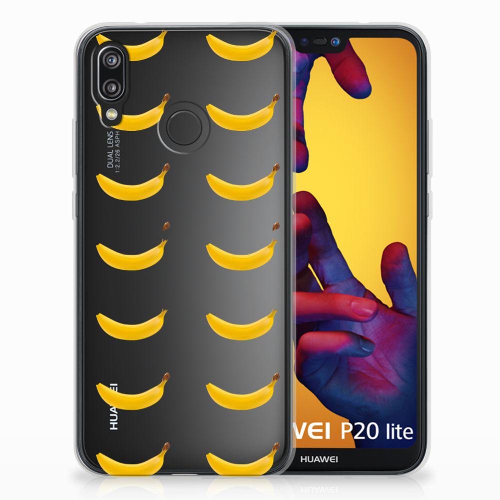 Huawei P20 Lite Siliconen Case Banana