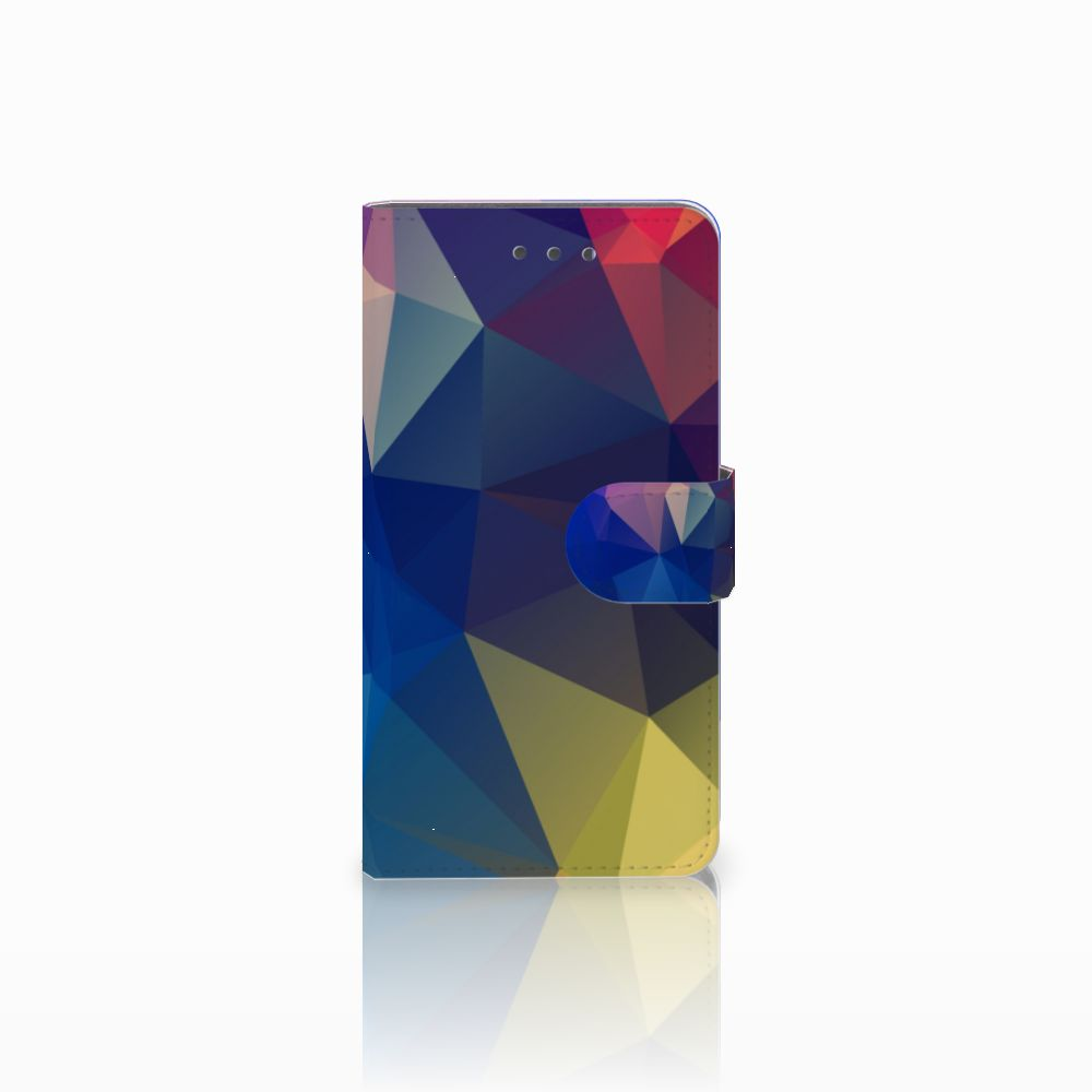 Wiko Fever (4G) Bookcase Polygon Dark