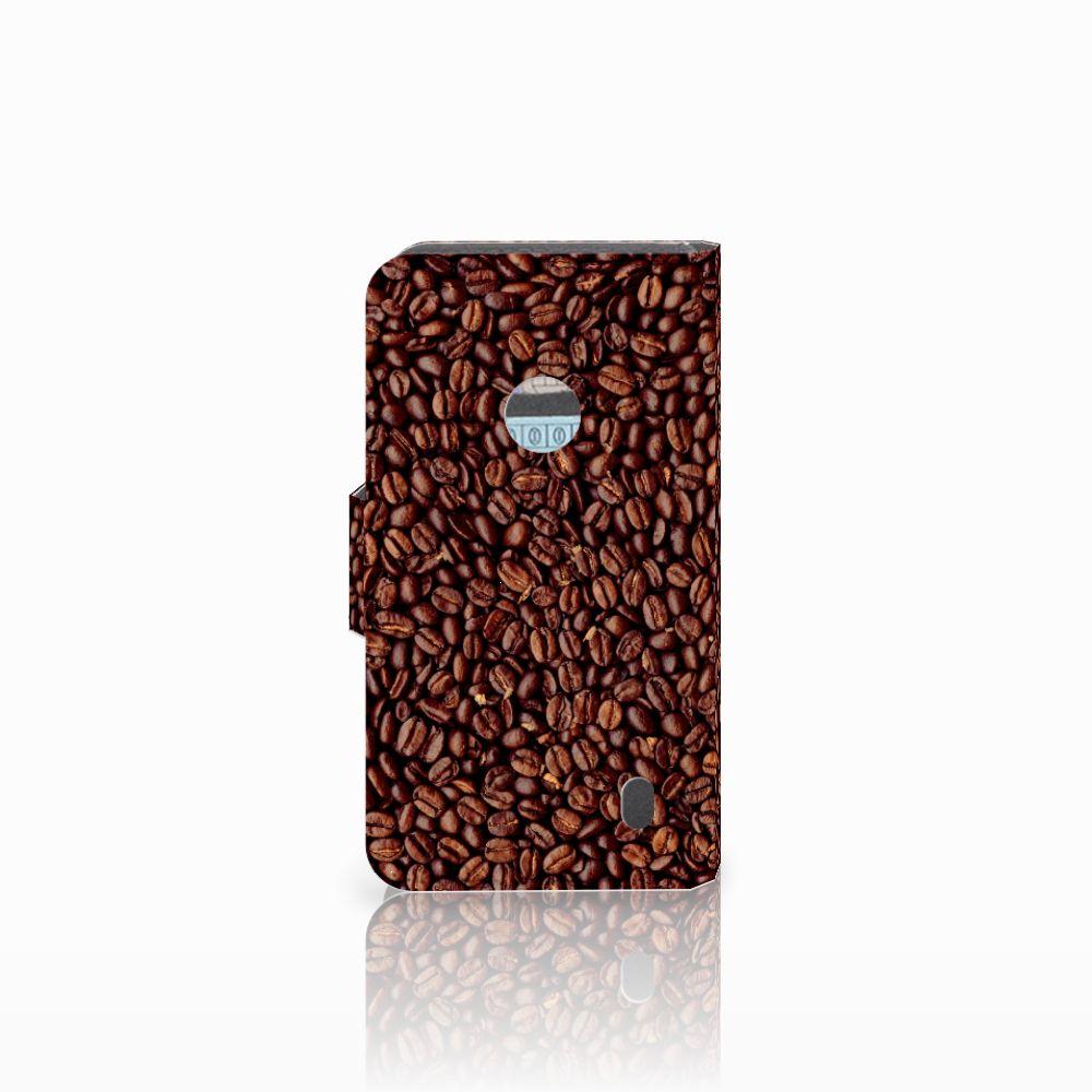 Nokia Lumia 520 Book Cover Koffiebonen