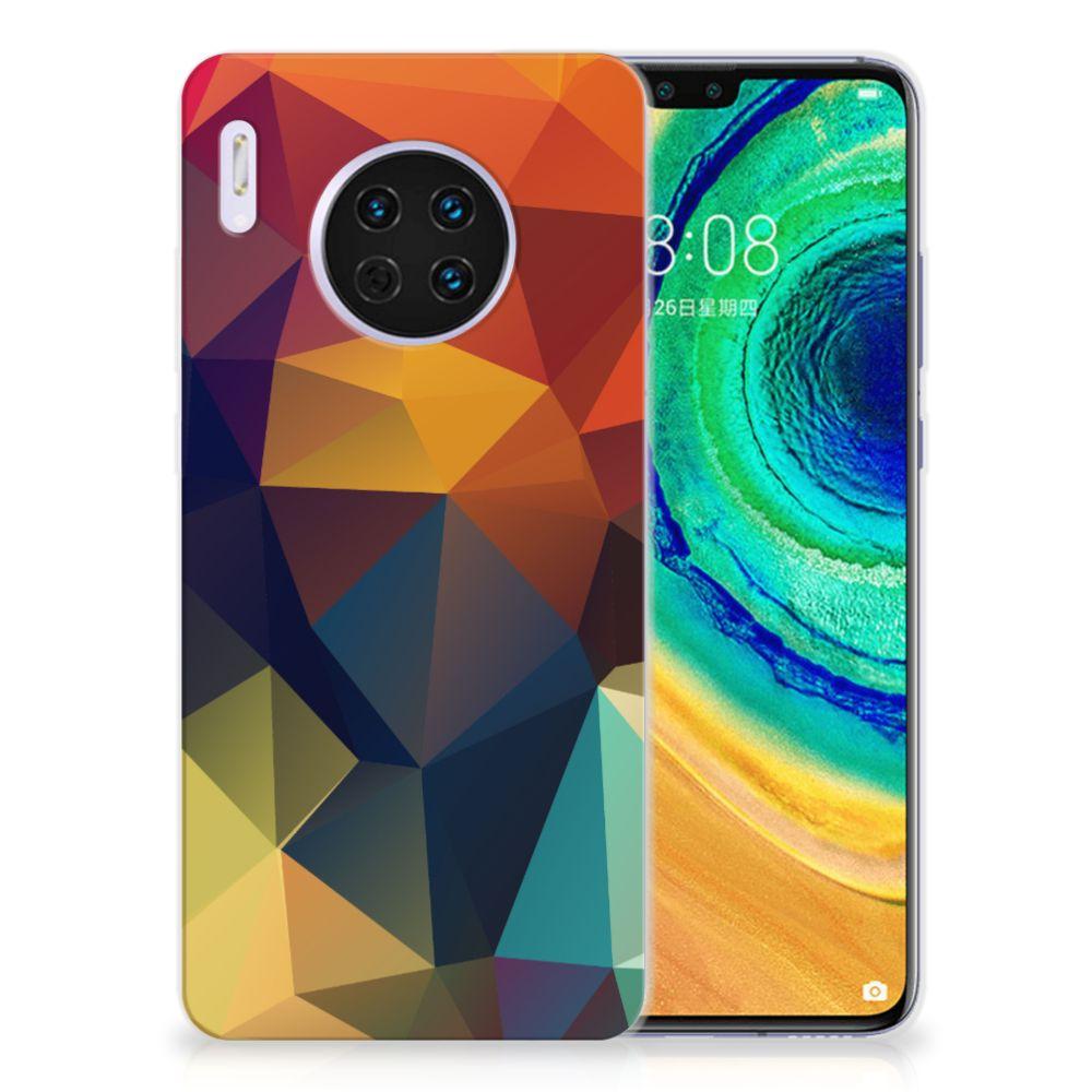 Huawei Mate 30 TPU Hoesje Polygon Color