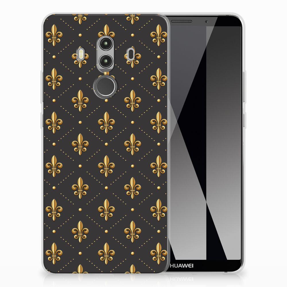 Huawei Mate 10 Pro Uniek TPU Hoesje Franse Lelie