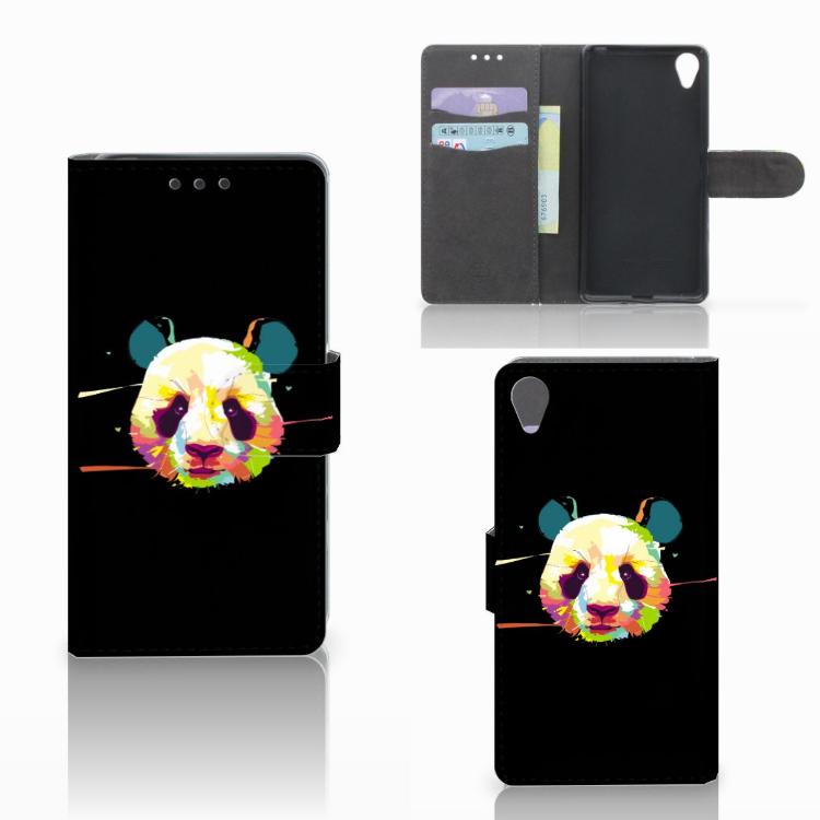 Sony Xperia X Leuke Hoesje Panda Color