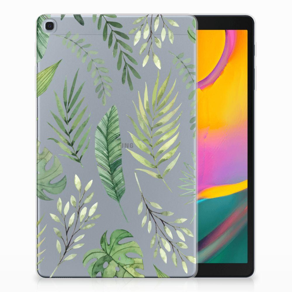 Samsung Galaxy Tab A 10.1 (2019) Uniek Tablethoesje Leaves