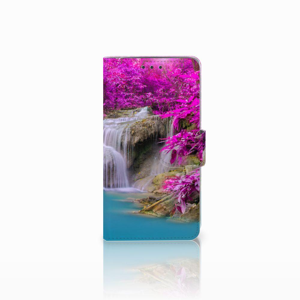 LG Q6 | LG Q6 Plus Uniek Boekhoesje Waterval