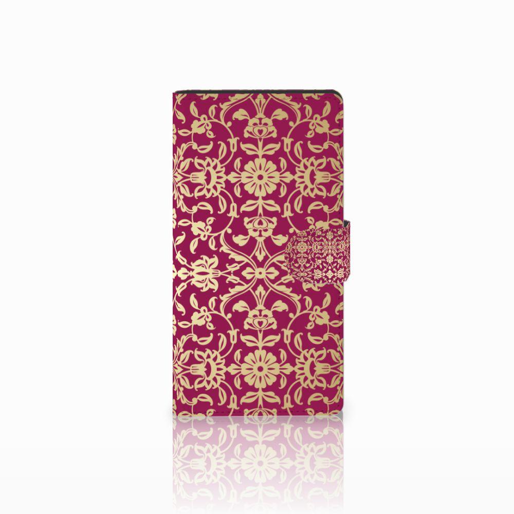 Sony Xperia C4 Boekhoesje Design Barok Pink