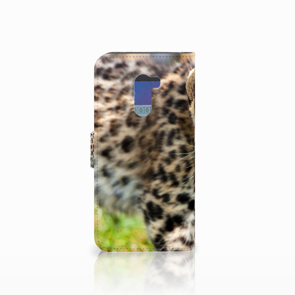 Xiaomi Pocophone F1 Telefoonhoesje met Pasjes Baby Luipaard