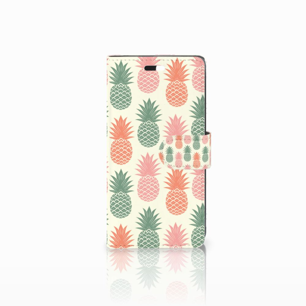 Huawei Y635 Boekhoesje Design Ananas