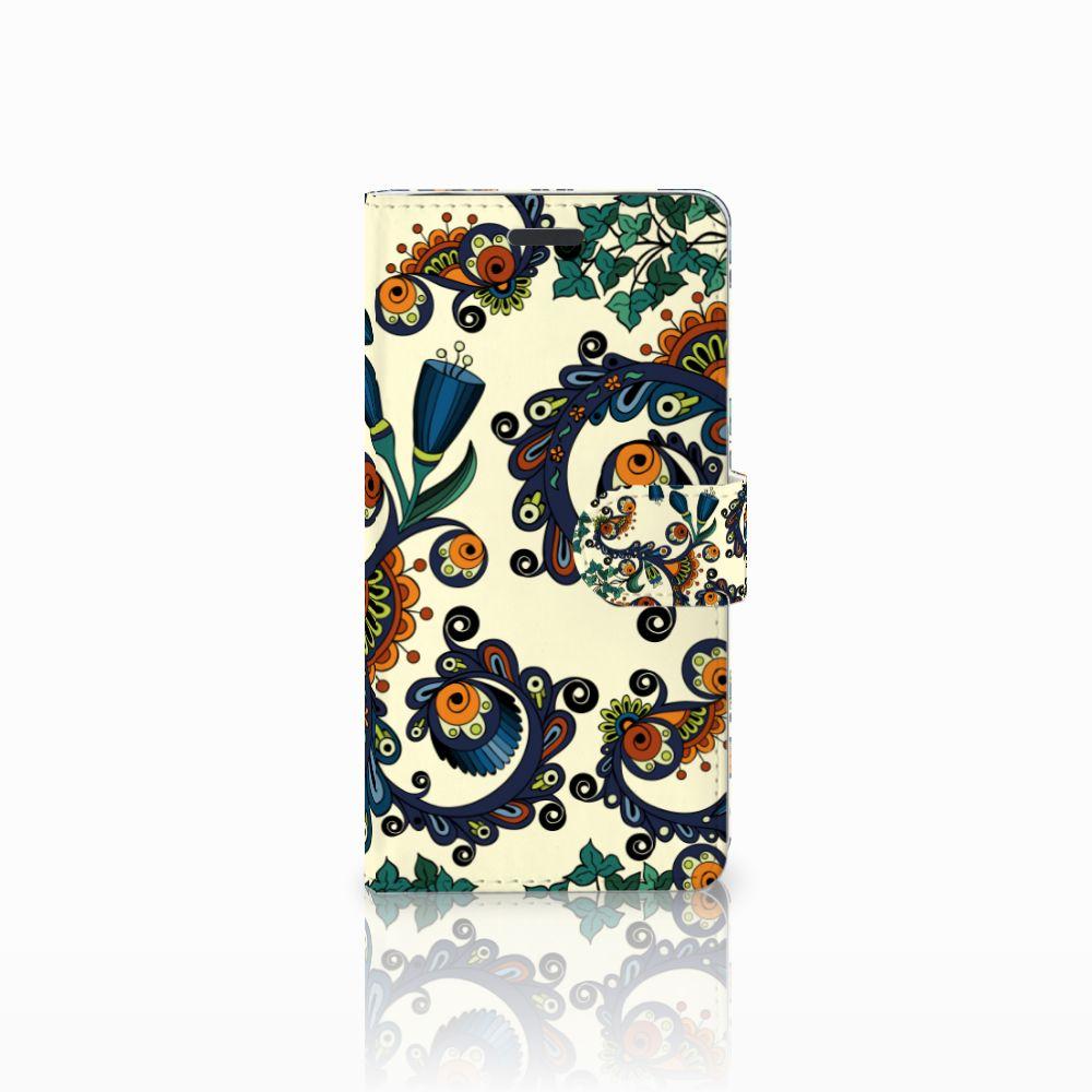 Samsung Galaxy Note 5 Boekhoesje Design Barok Flower