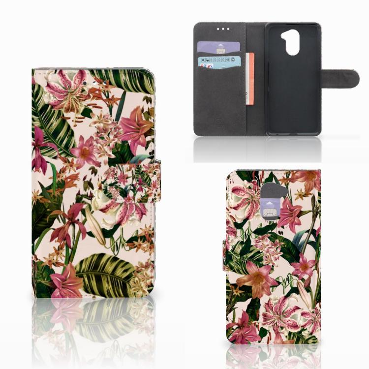 Huawei Y7 2017 | Y7 Prime 2017 Hoesje Flowers