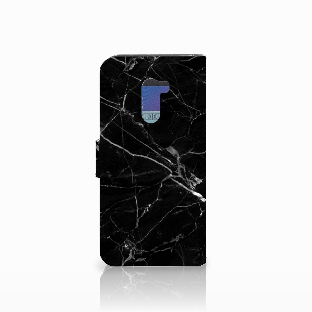Xiaomi Pocophone F1 Bookcase Marmer Zwart