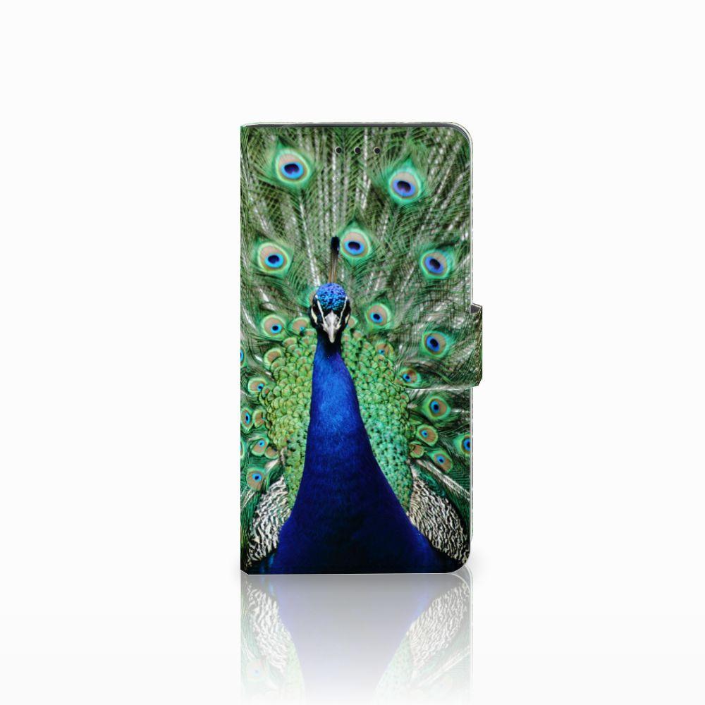 Samsung Galaxy J6 Plus (2018) Telefoonhoesje met Pasjes Pauw