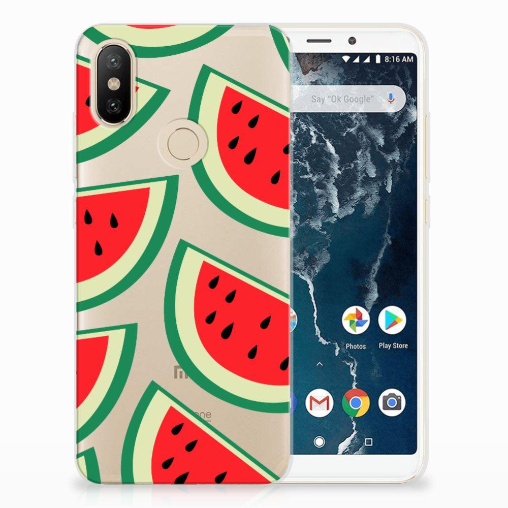 Xiaomi Mi A2 Siliconen Case Watermelons