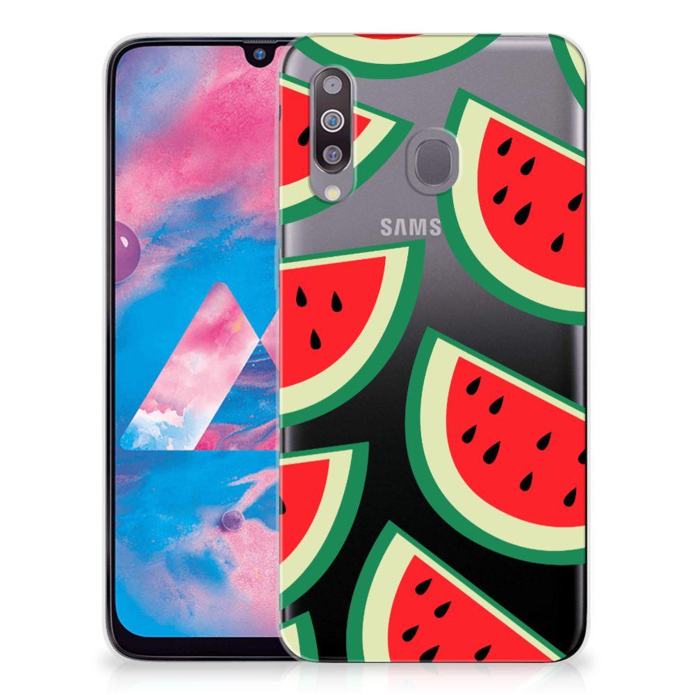 Samsung Galaxy M30 Siliconen Case Watermelons