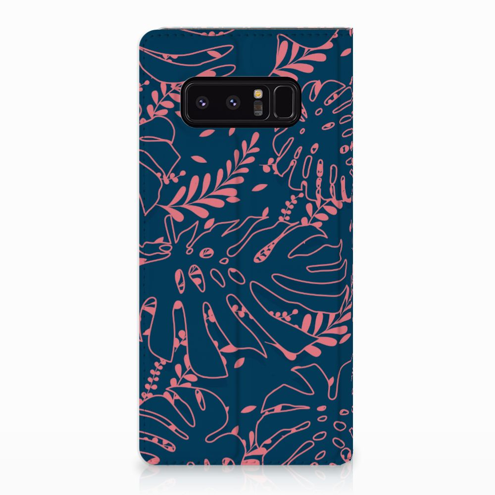 Samsung Galaxy Note 8 Standcase Hoesje Design Palm Leaves