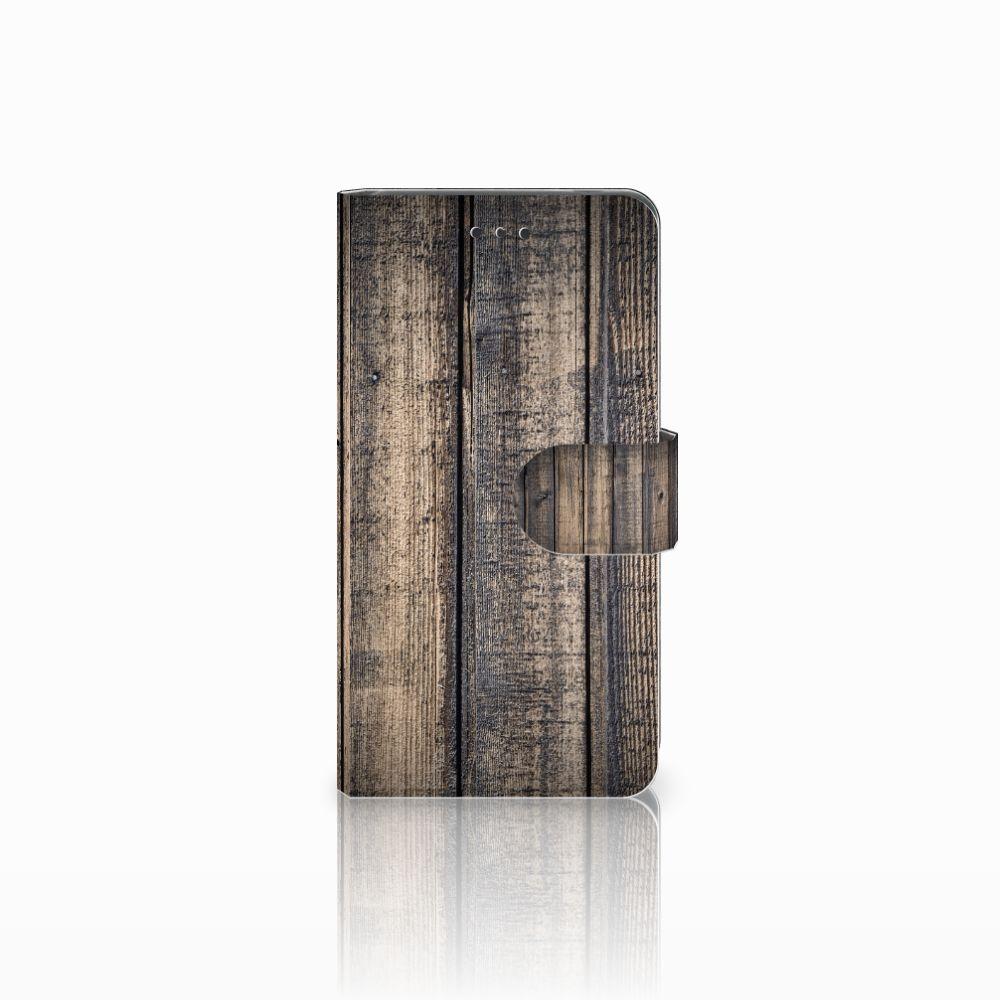 Nokia 7 Boekhoesje Design Steigerhout