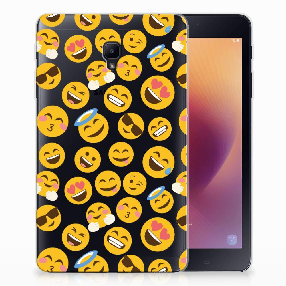 Samsung Galaxy Tab A 8.0 (2017) Tablethoesje Design Emoji