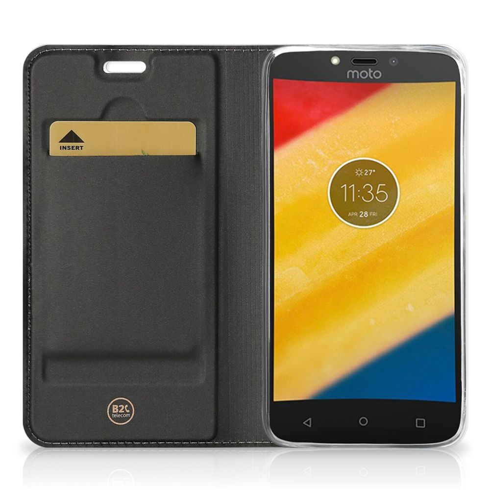 Motorola Moto G5S Magnet Case Cat Color
