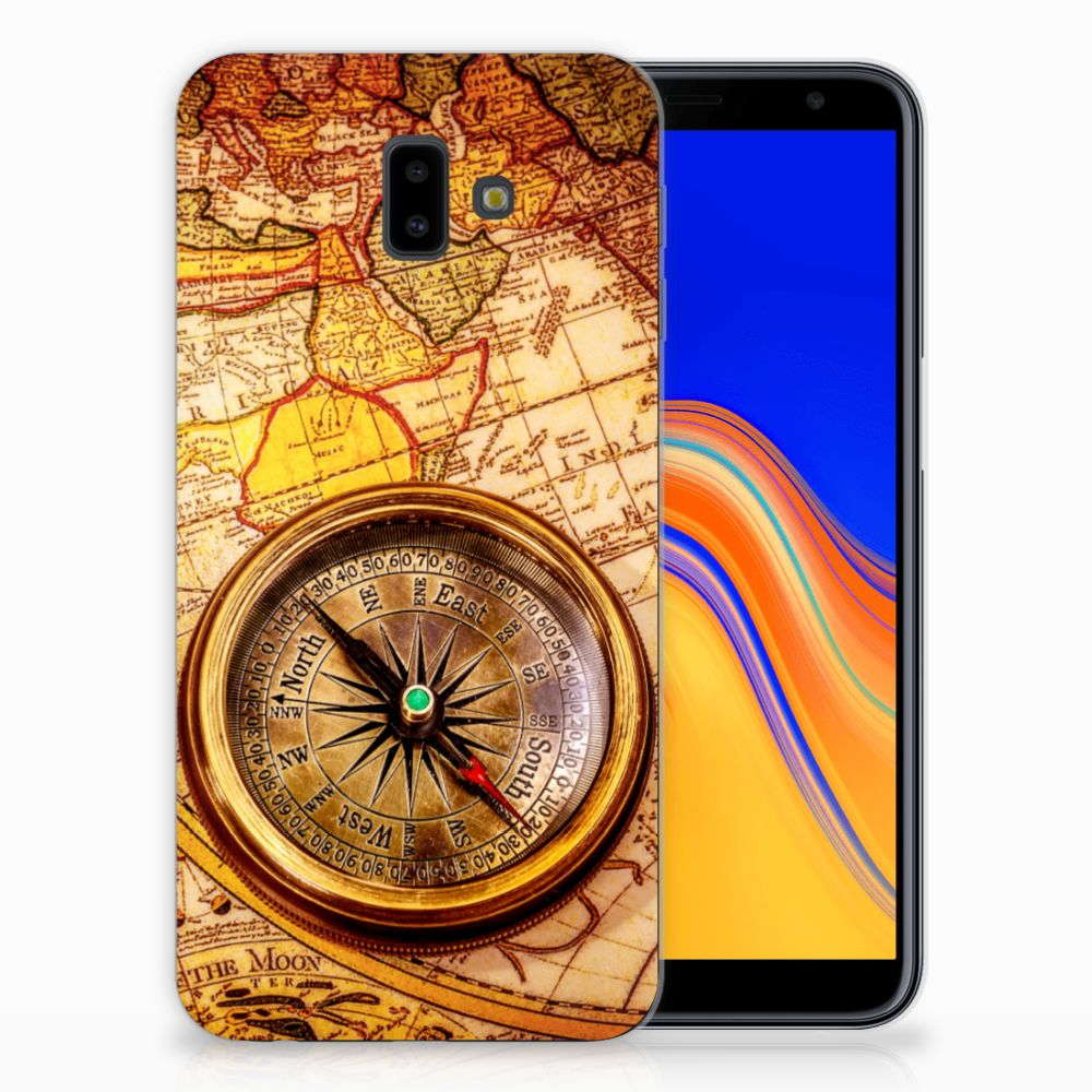 Samsung Galaxy J6 Plus (2018) Siliconen Back Cover Kompas