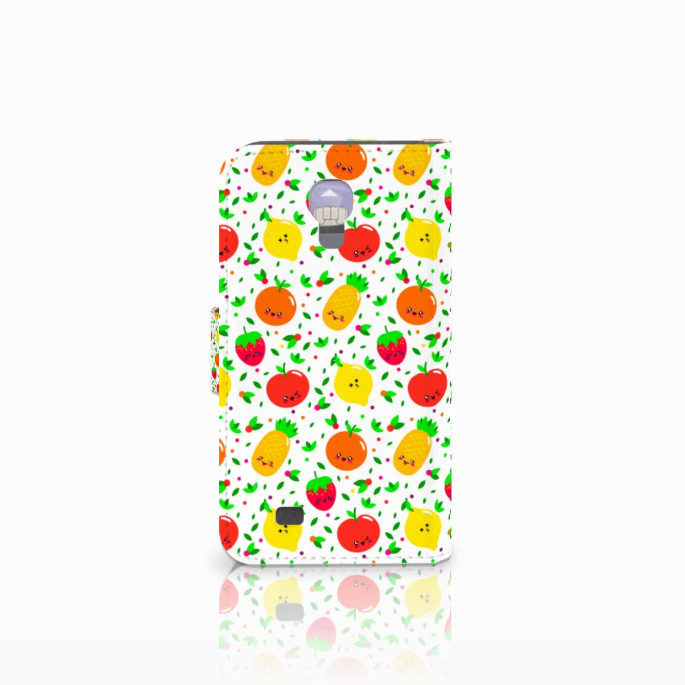 Samsung Galaxy S4 Book Cover Fruits