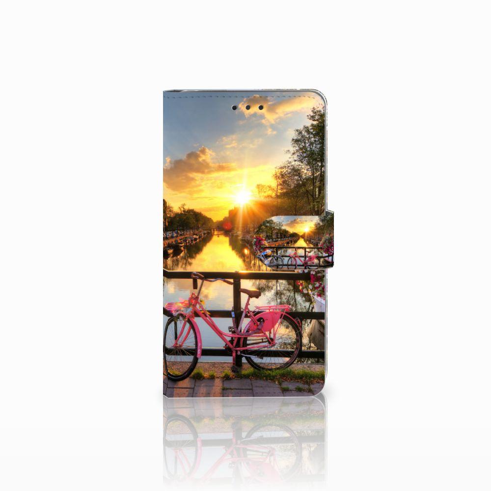 LG G4 Uniek Boekhoesje Amsterdamse Grachten