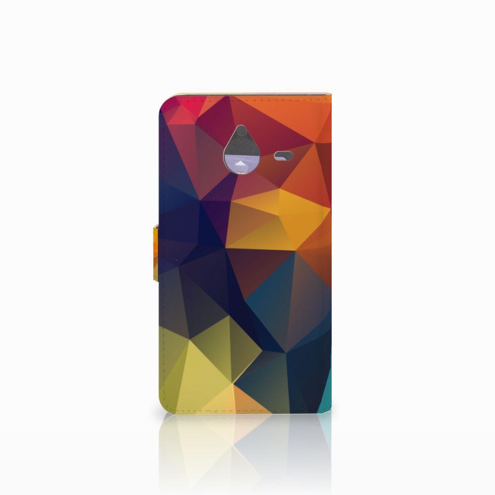 Microsoft Lumia 640 XL Bookcase Polygon Color