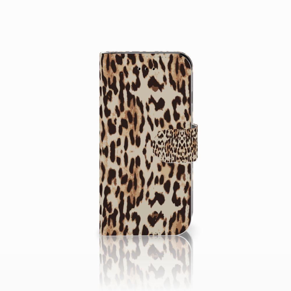 Apple iPhone 6 | 6s Uniek Boekhoesje Leopard