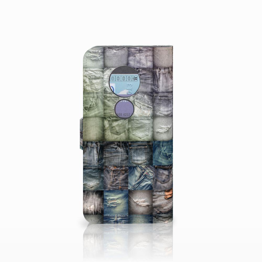 Wallet Case met Pasjes Motorola Moto G6 Play Spijkerbroeken