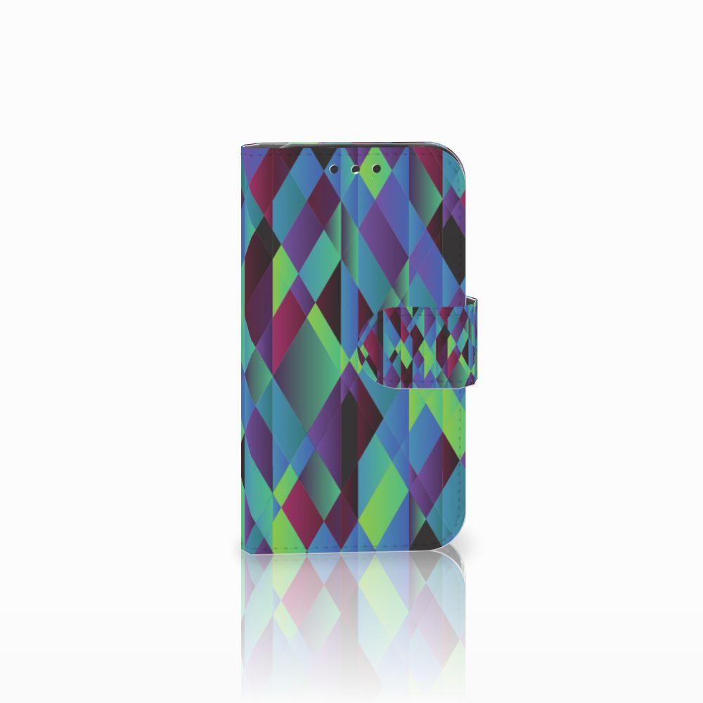 Lenovo B Bookcase Abstract Green Blue
