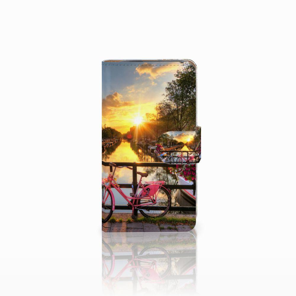 HTC Desire 310 Uniek Boekhoesje Amsterdamse Grachten