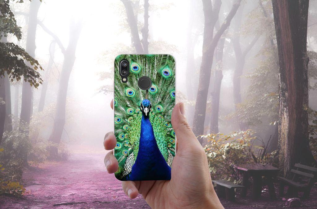 Huawei P20 Lite TPU Hoesje Pauw