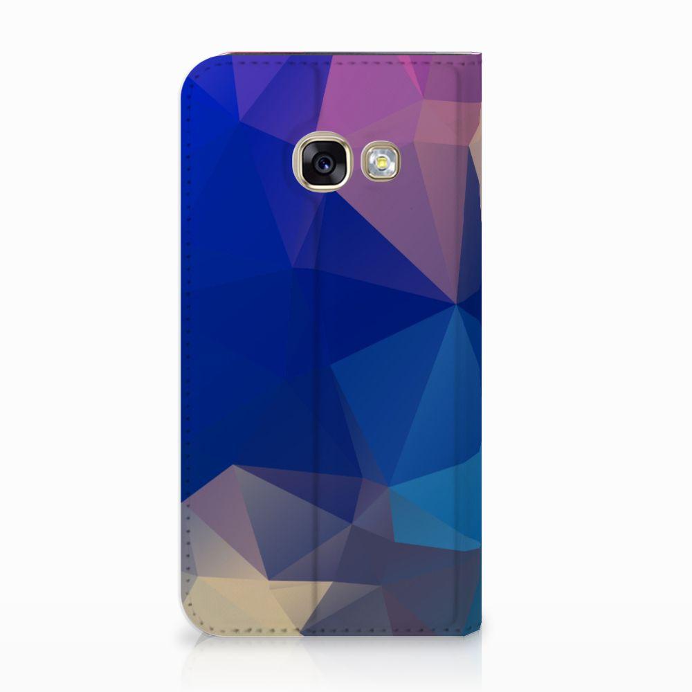 Samsung Galaxy A3 2017 Stand Case Polygon Dark