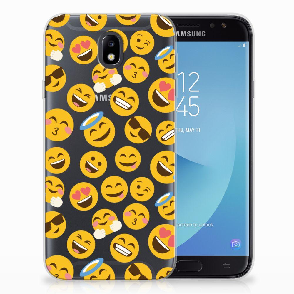 Samsung Galaxy J7 2017 | J7 Pro TPU Hoesje Design Emoji