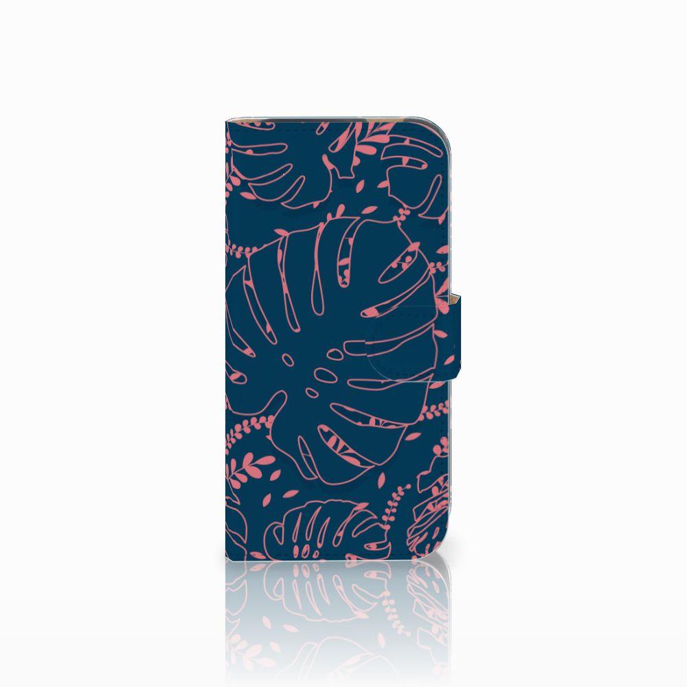 HTC One M8 Boekhoesje Design Palm Leaves