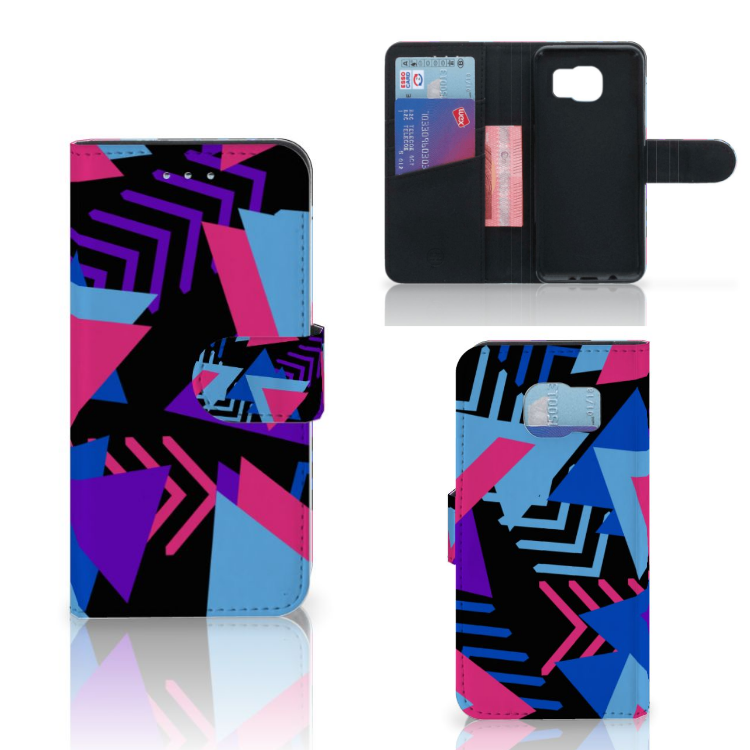 Samsung Galaxy S6 | S6 Duos Bookcase Funky Triangle