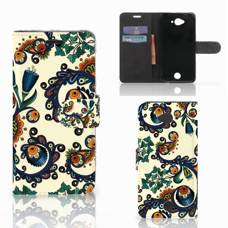 Wallet Case Acer Liquid Z530 | Z530s Barok Flower