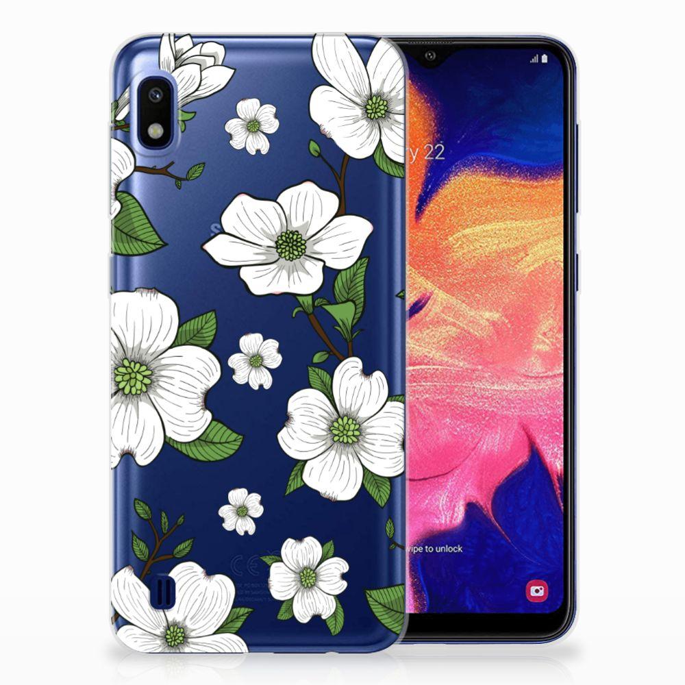 Samsung Galaxy A10 TPU Case Dogwood Flowers