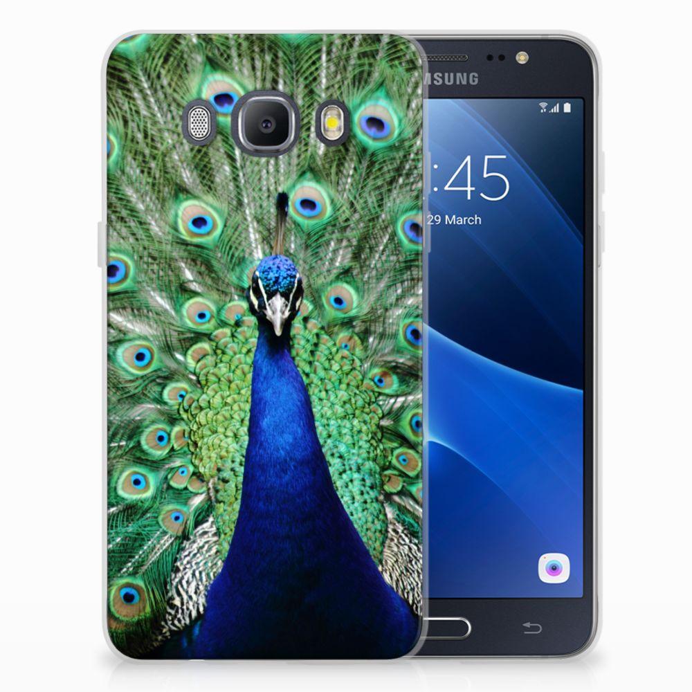 Samsung Galaxy J5 2016 TPU Hoesje Pauw