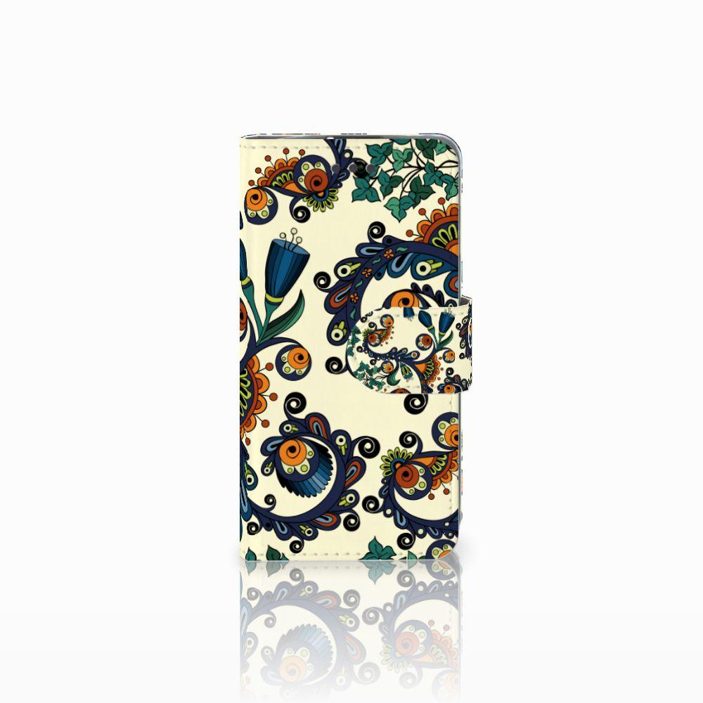 Wallet Case LG L70 Barok Flower