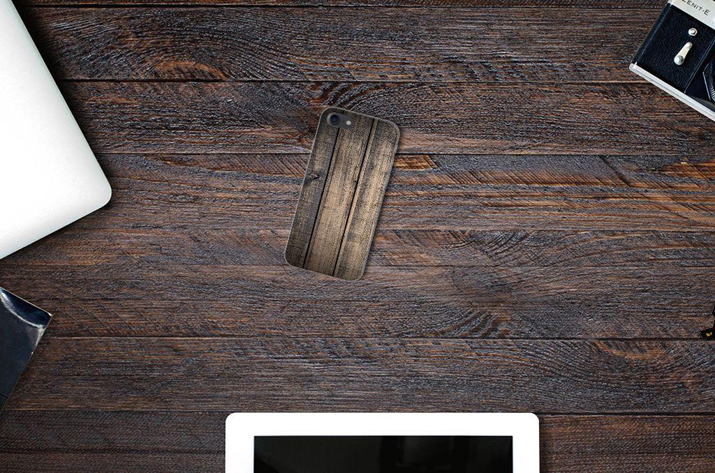 iPhone SE (2020) | 7/8 Bumper Hoesje Steigerhout